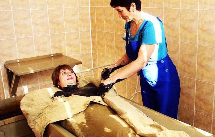 Грязелечение в санатории Саки